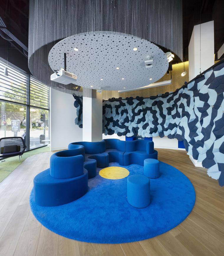 Дизайн офиса. офисы из проекта , фото №66023
