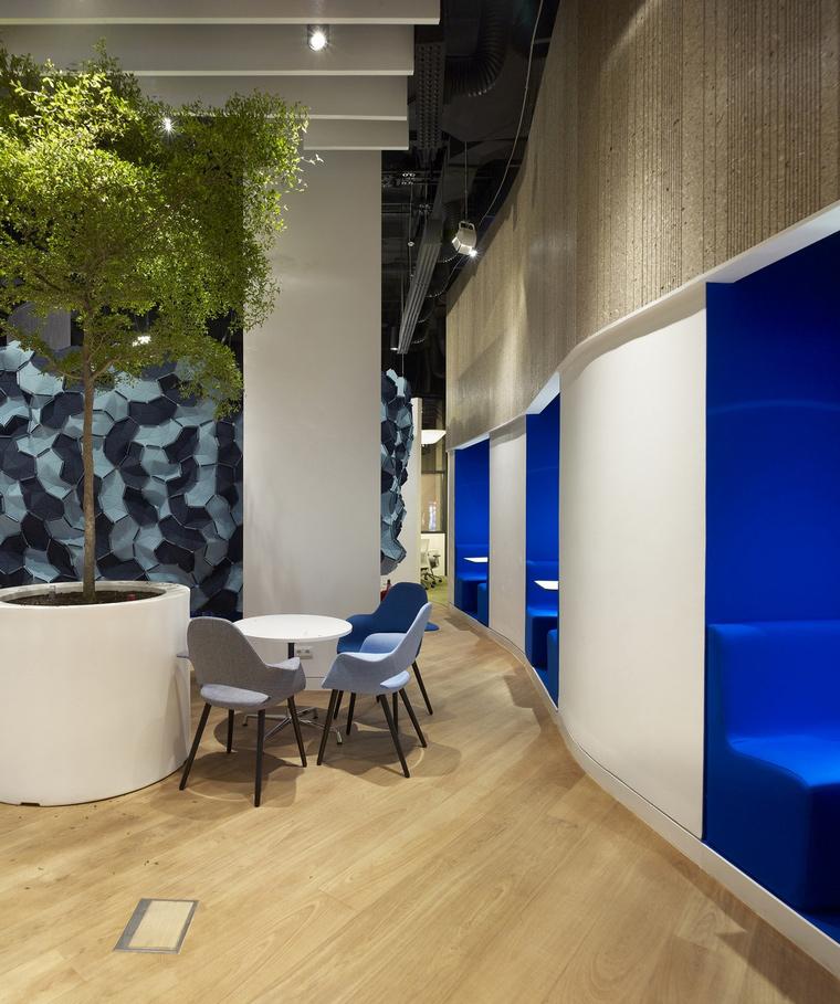 Дизайн офиса. офисы из проекта , фото №66025