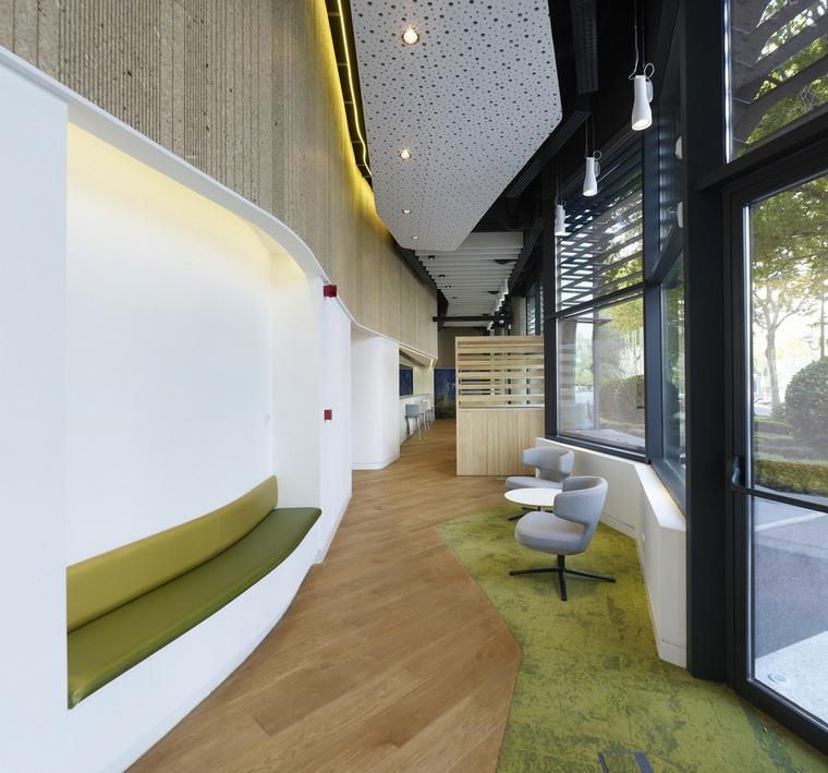 Дизайн офиса. офисы из проекта , фото №66027