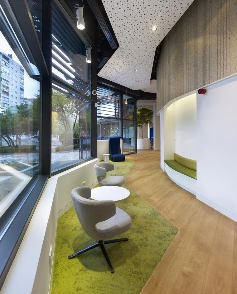 Дизайн офиса. офисы из проекта , фото №66030
