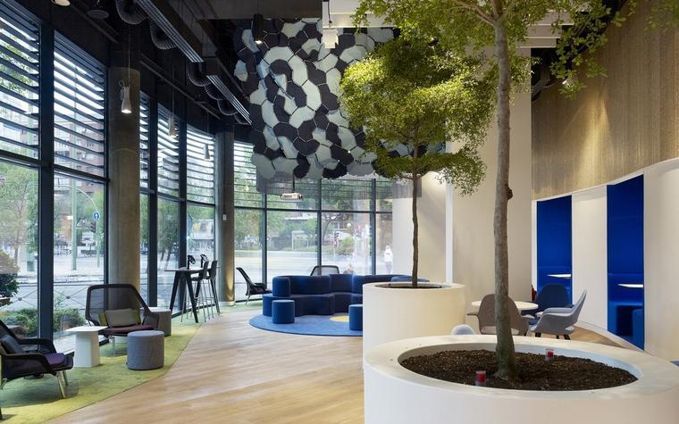 Дизайн офиса. офисы из проекта , фото №66036