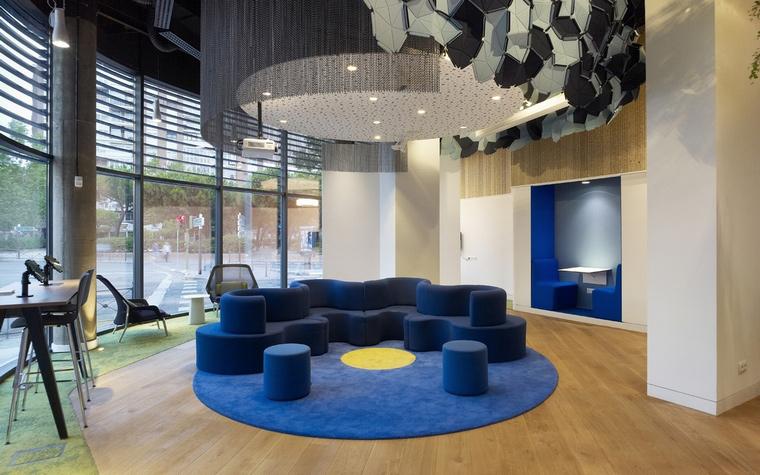 Дизайн офиса. офисы из проекта , фото №66039