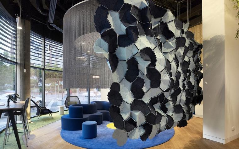 Дизайн офиса. офисы из проекта , фото №66040