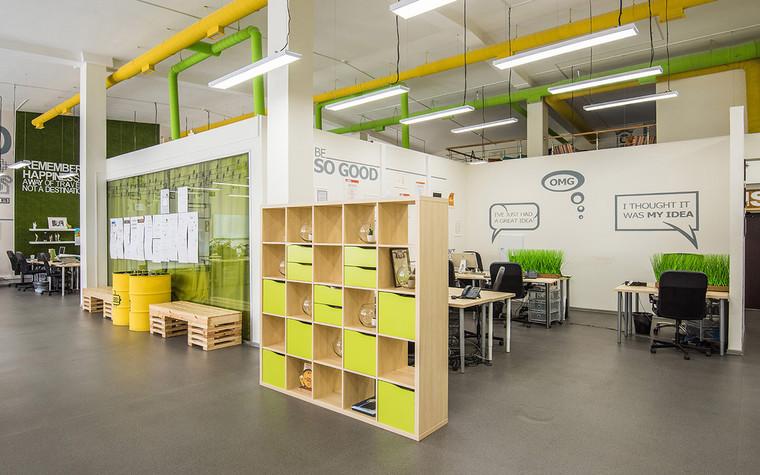 Дизайн офиса. офисы из проекта , фото №69622