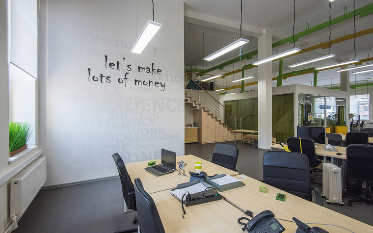 Дизайн офиса. офисы из проекта , фото №69624