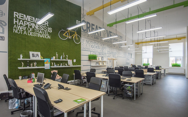 Дизайн офиса. офисы из проекта , фото №69628