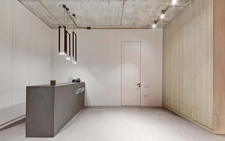Дизайн офиса. офисы из проекта LetLed. Офисный интерьер студии интерьера Zooi, фото №78106