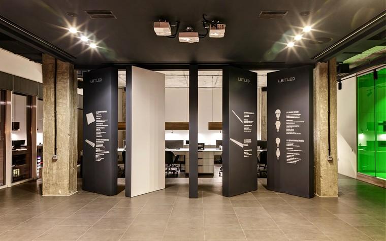 Дизайн офиса. офисы из проекта LetLed. Офисный интерьер студии интерьера Zooi, фото №78111