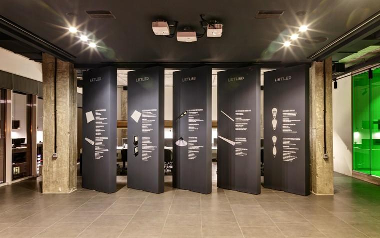 Дизайн офиса. офисы из проекта LetLed. Офисный интерьер студии интерьера Zooi, фото №78112
