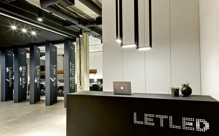Дизайн офиса. офисы из проекта LetLed. Офисный интерьер студии интерьера Zooi, фото №78103