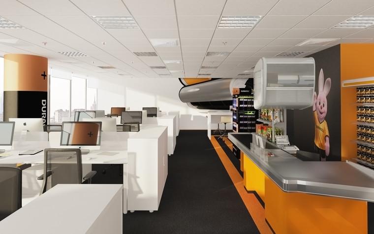 Дизайн офиса. офисы из проекта офис компании DURACELL, фото №92394