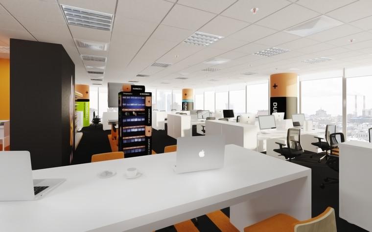 Дизайн офиса. офисы из проекта офис компании DURACELL, фото №92395