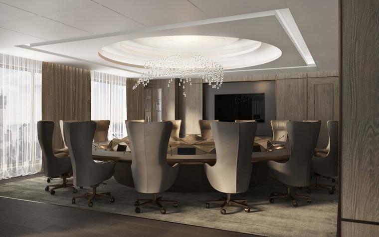 Дизайн офиса. офисы из проекта Крупная металлургическая компания, реновация зоны Совета Директоров, фото №92447