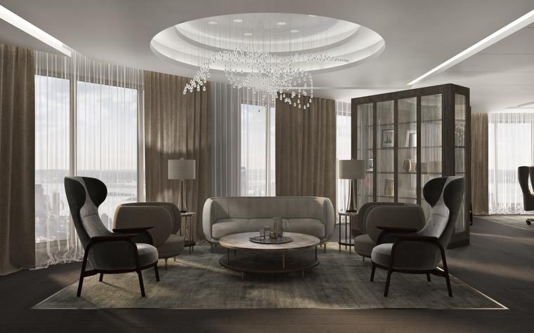 Дизайн офиса. офисы из проекта Крупная металлургическая компания, реновация зоны Совета Директоров, фото №92449