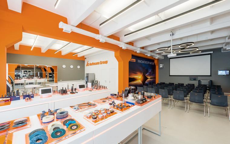 Дизайн офиса. офисы из проекта Шоу-рум Hoffmann Group, фото №95734