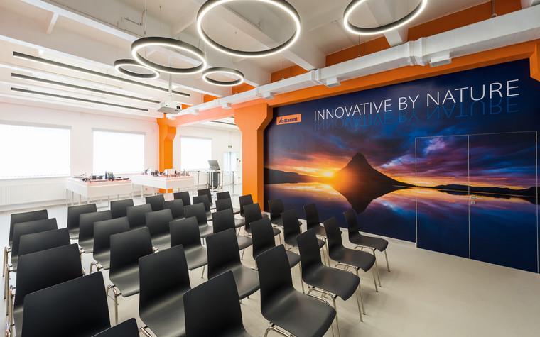 Дизайн офиса. офисы из проекта Шоу-рум Hoffmann Group, фото №95735