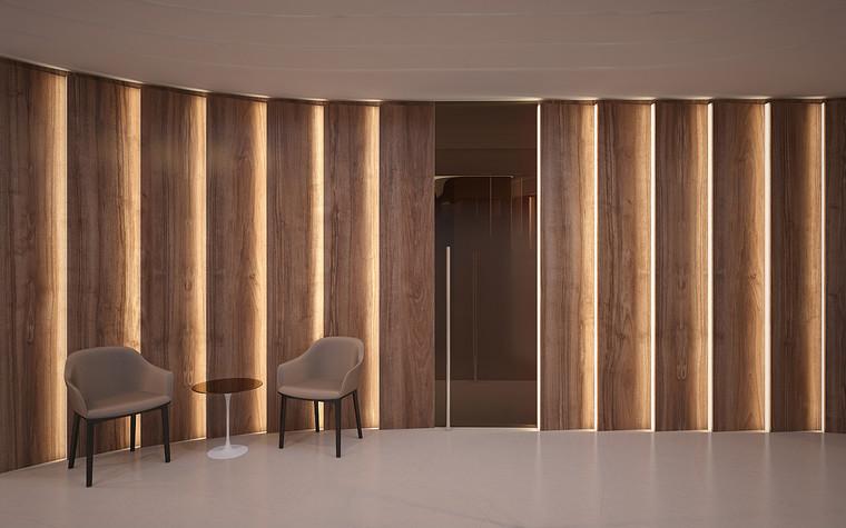 Дизайн офиса. офисы из проекта Офис в Москва-Сити, фото №95806