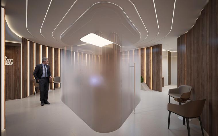 Дизайн офиса. офисы из проекта Офис в Москва-Сити, фото №95813