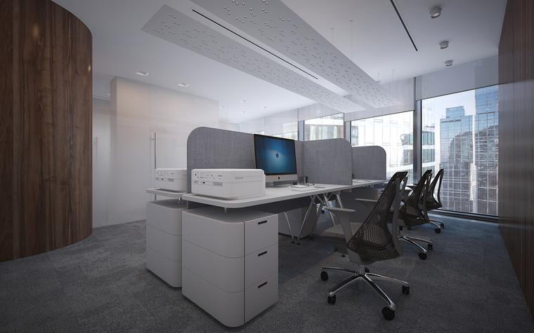 Дизайн офиса. офисы из проекта Офис в Москва-Сити, фото №95818