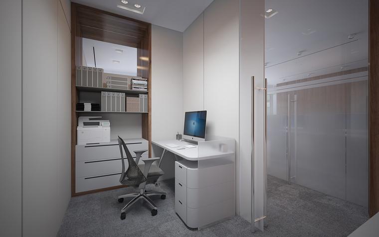 Дизайн офиса. офисы из проекта Офис в Москва-Сити, фото №95819