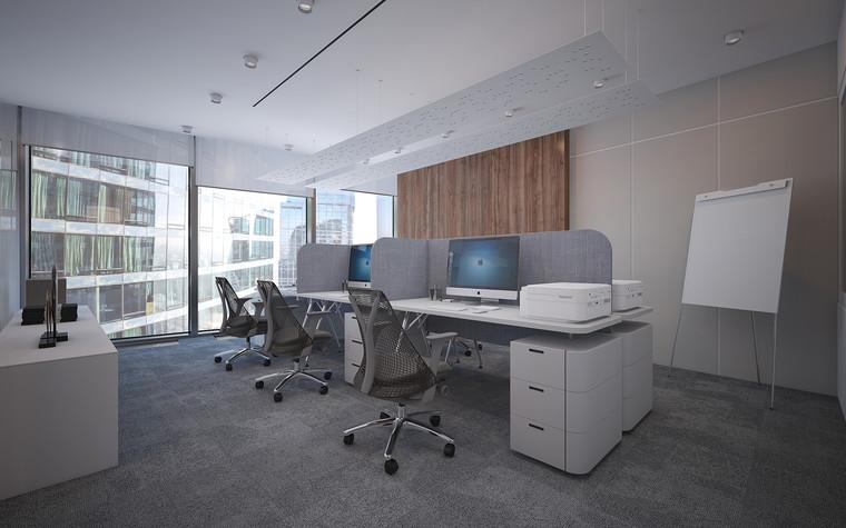 Дизайн офиса. офисы из проекта Офис в Москва-Сити, фото №95820