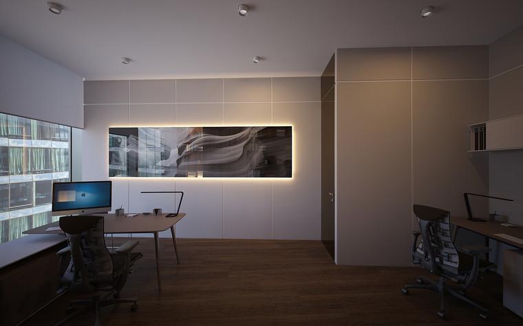 Дизайн офиса. офисы из проекта Офис в Москва-Сити, фото №95821