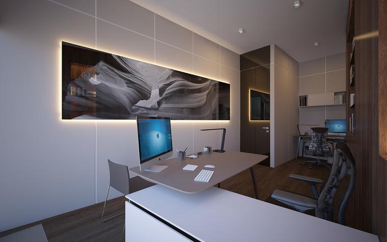 Дизайн офиса. офисы из проекта Офис в Москва-Сити, фото №95822