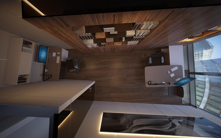 Дизайн офиса. офисы из проекта Офис в Москва-Сити, фото №95823