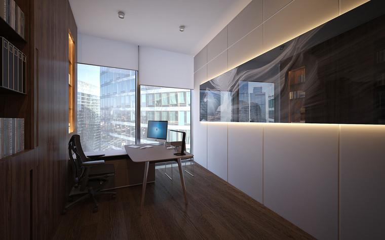 Дизайн офиса. офисы из проекта Офис в Москва-Сити, фото №95824