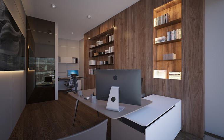 Дизайн офиса. офисы из проекта Офис в Москва-Сити, фото №95825