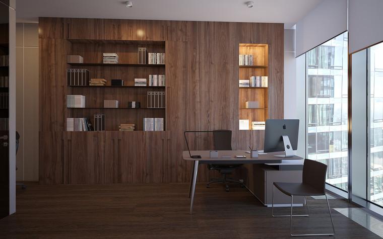 Дизайн офиса. офисы из проекта Офис в Москва-Сити, фото №95826