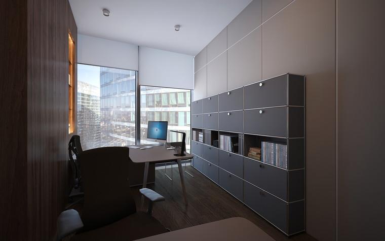 Дизайн офиса. офисы из проекта Офис в Москва-Сити, фото №95827