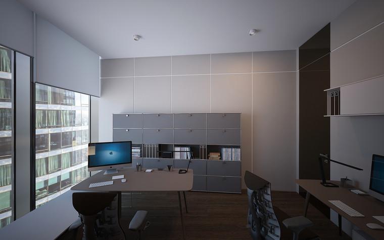 Дизайн офиса. офисы из проекта Офис в Москва-Сити, фото №95828