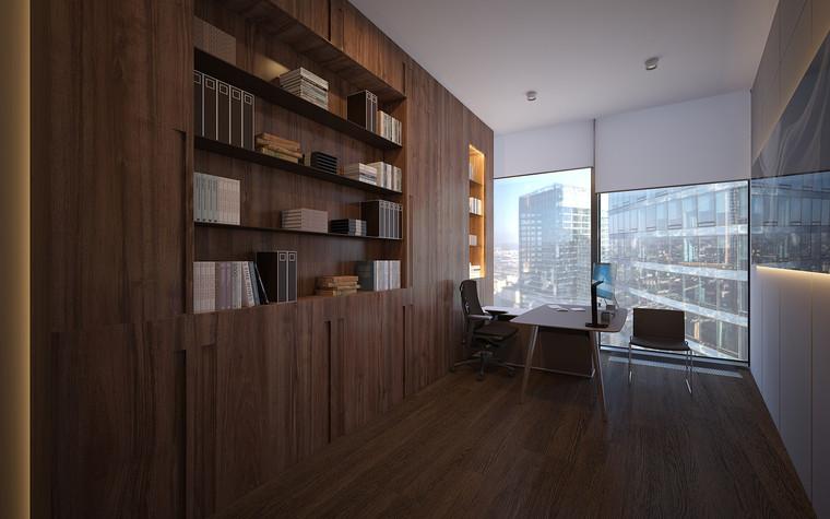 Дизайн офиса. офисы из проекта Офис в Москва-Сити, фото №95829