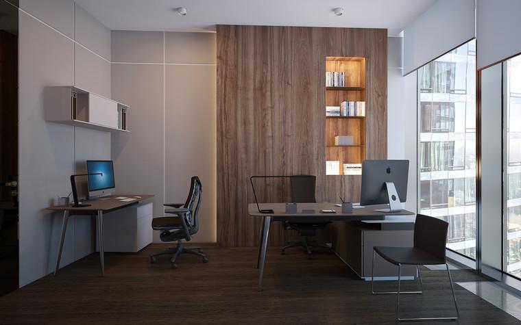 Дизайн офиса. офисы из проекта Офис в Москва-Сити, фото №95830
