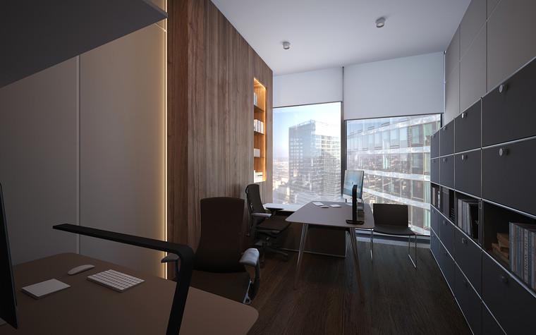 Дизайн офиса. офисы из проекта Офис в Москва-Сити, фото №95831