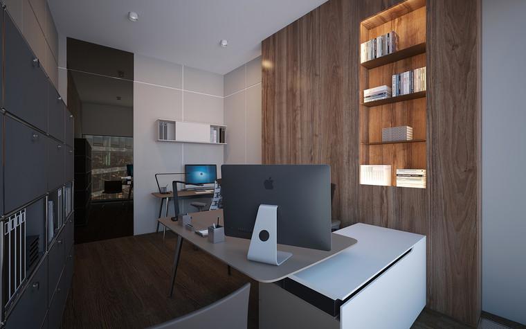 Дизайн офиса. офисы из проекта Офис в Москва-Сити, фото №95832