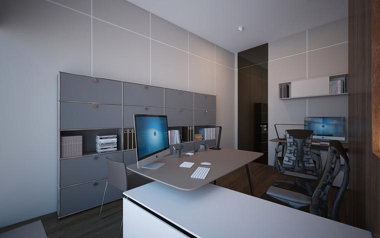 Дизайн офиса. офисы из проекта Офис в Москва-Сити, фото №95833