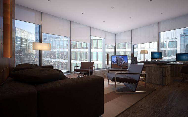 Дизайн офиса. офисы из проекта Офис в Москва-Сити, фото №95835