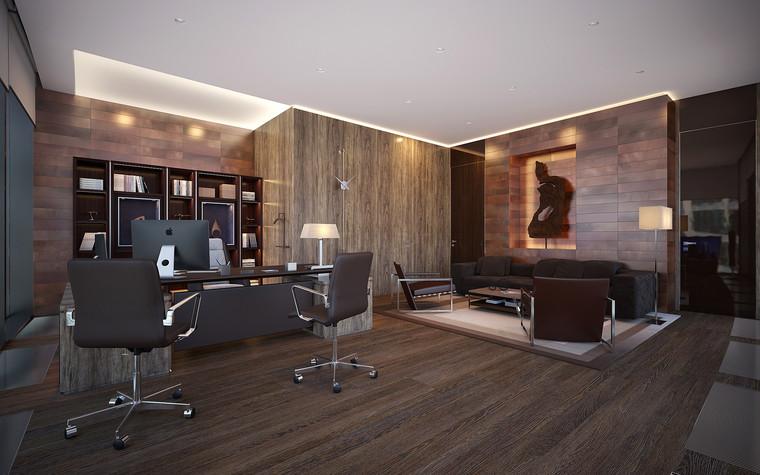 Дизайн офиса. офисы из проекта Офис в Москва-Сити, фото №95836