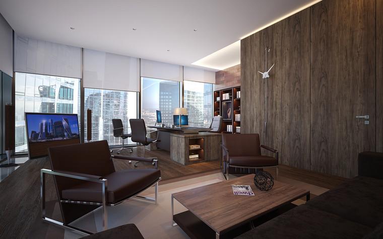 Дизайн офиса. офисы из проекта Офис в Москва-Сити, фото №95837