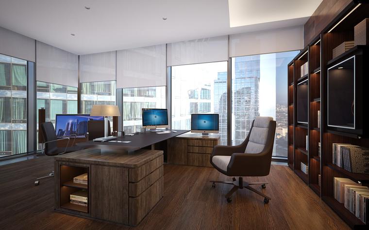 Дизайн офиса. офисы из проекта Офис в Москва-Сити, фото №95838