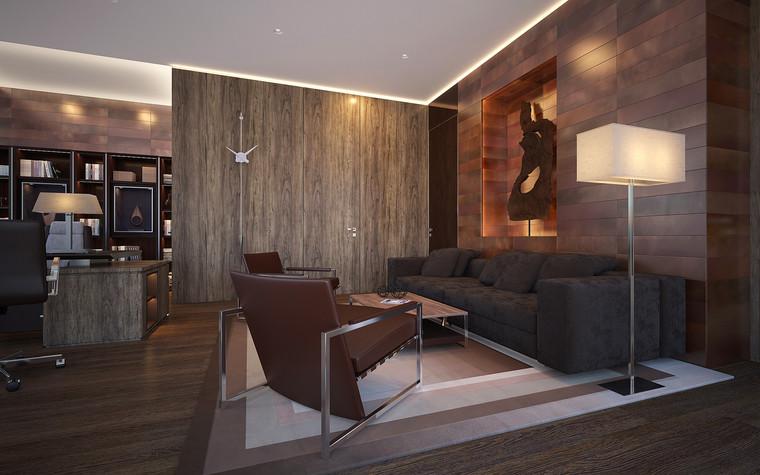 Дизайн офиса. офисы из проекта Офис в Москва-Сити, фото №95839