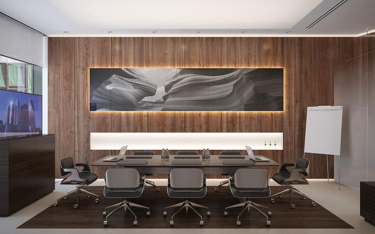 Дизайн офиса. офисы из проекта Офис в Москва-Сити, фото №95841