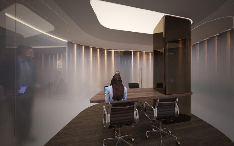 Дизайн офиса. офисы из проекта Офис в Москва-Сити, фото №95809
