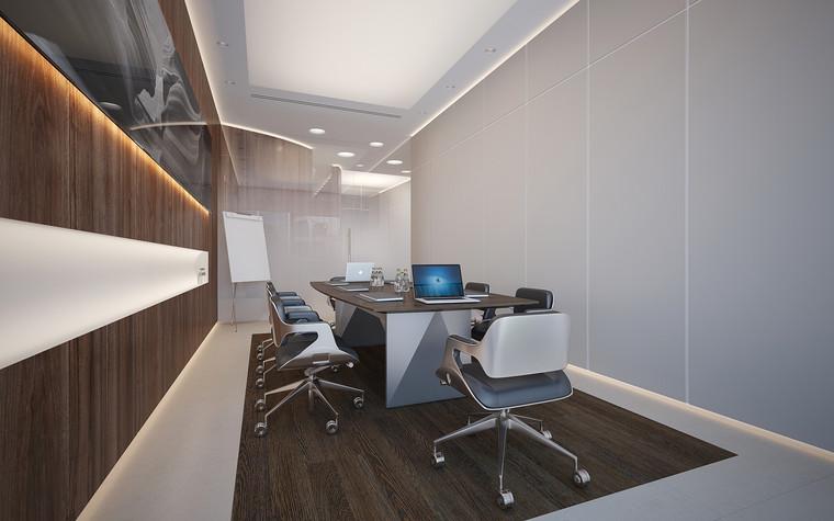 Дизайн офиса. офисы из проекта Офис в Москва-Сити, фото №95842