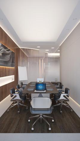 Дизайн офиса. офисы из проекта Офис в Москва-Сити, фото №95843
