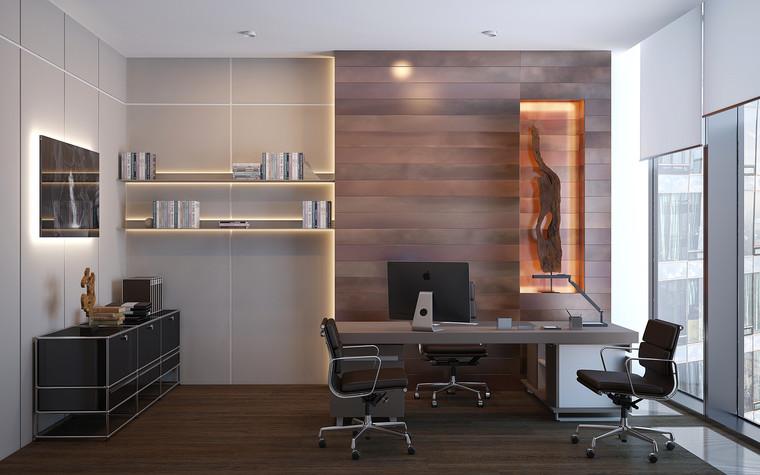 Дизайн офиса. офисы из проекта Офис в Москва-Сити, фото №95844