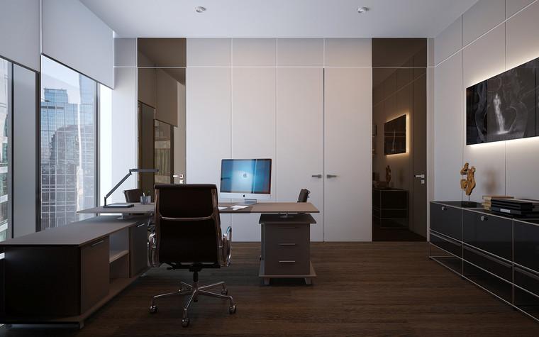 Дизайн офиса. офисы из проекта Офис в Москва-Сити, фото №95845