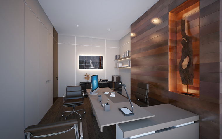 Дизайн офиса. офисы из проекта Офис в Москва-Сити, фото №95846